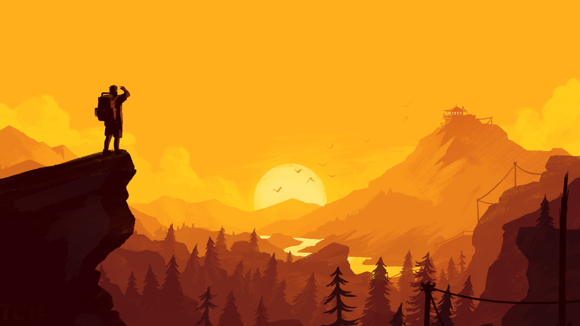 Game image Firewatch