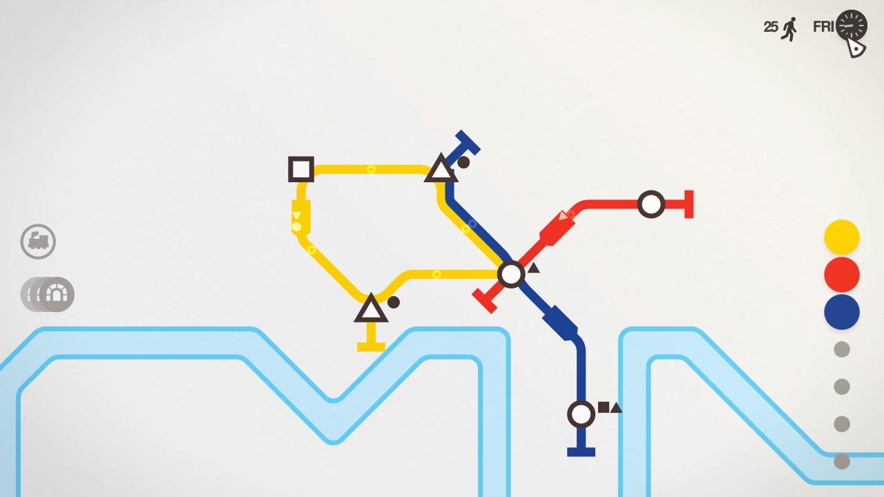 Game image Mini Metro