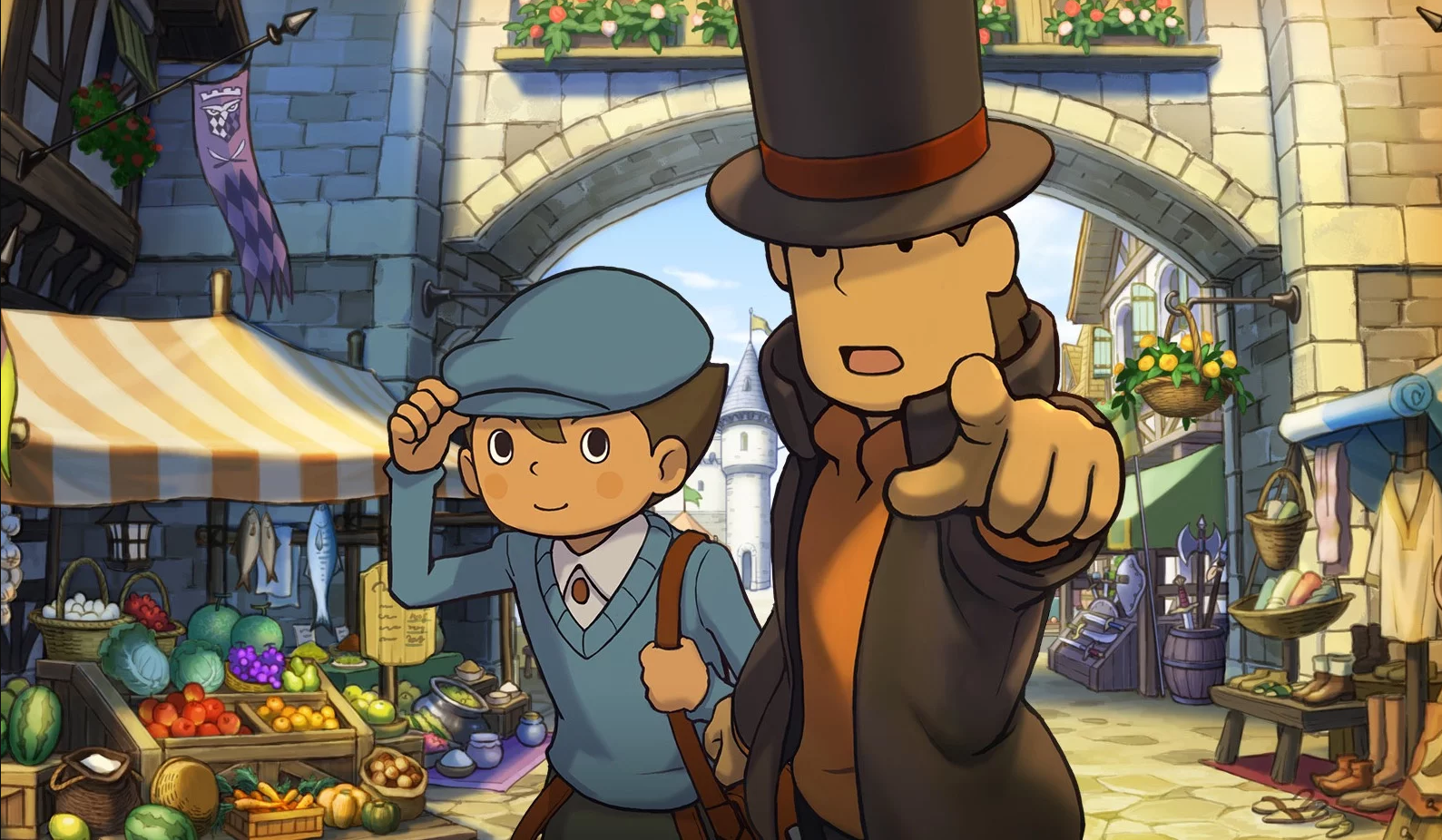 Game image Professor Layton