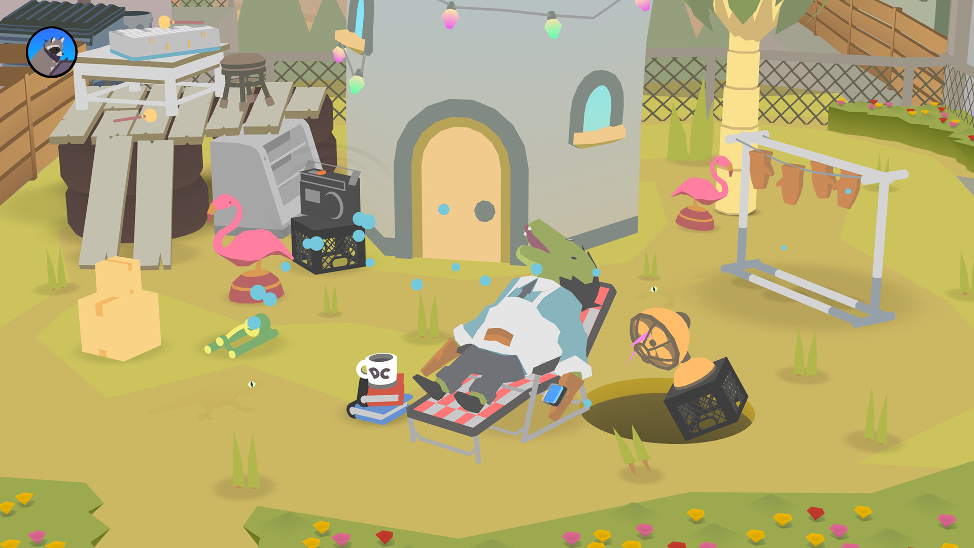 Game image Donut County