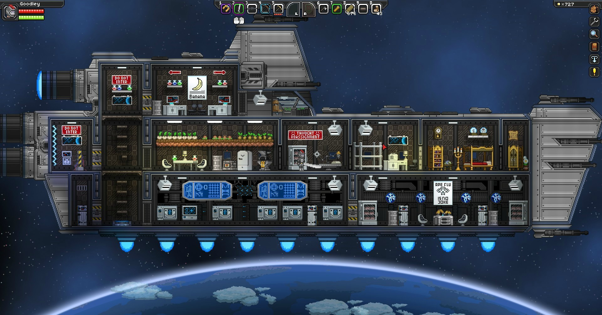 Game image Starbound