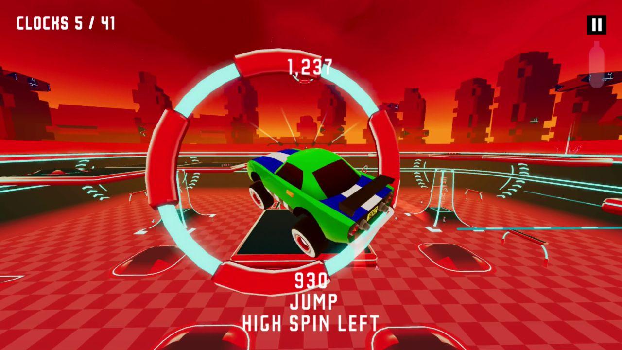 Game image REKT High Octane Stunts