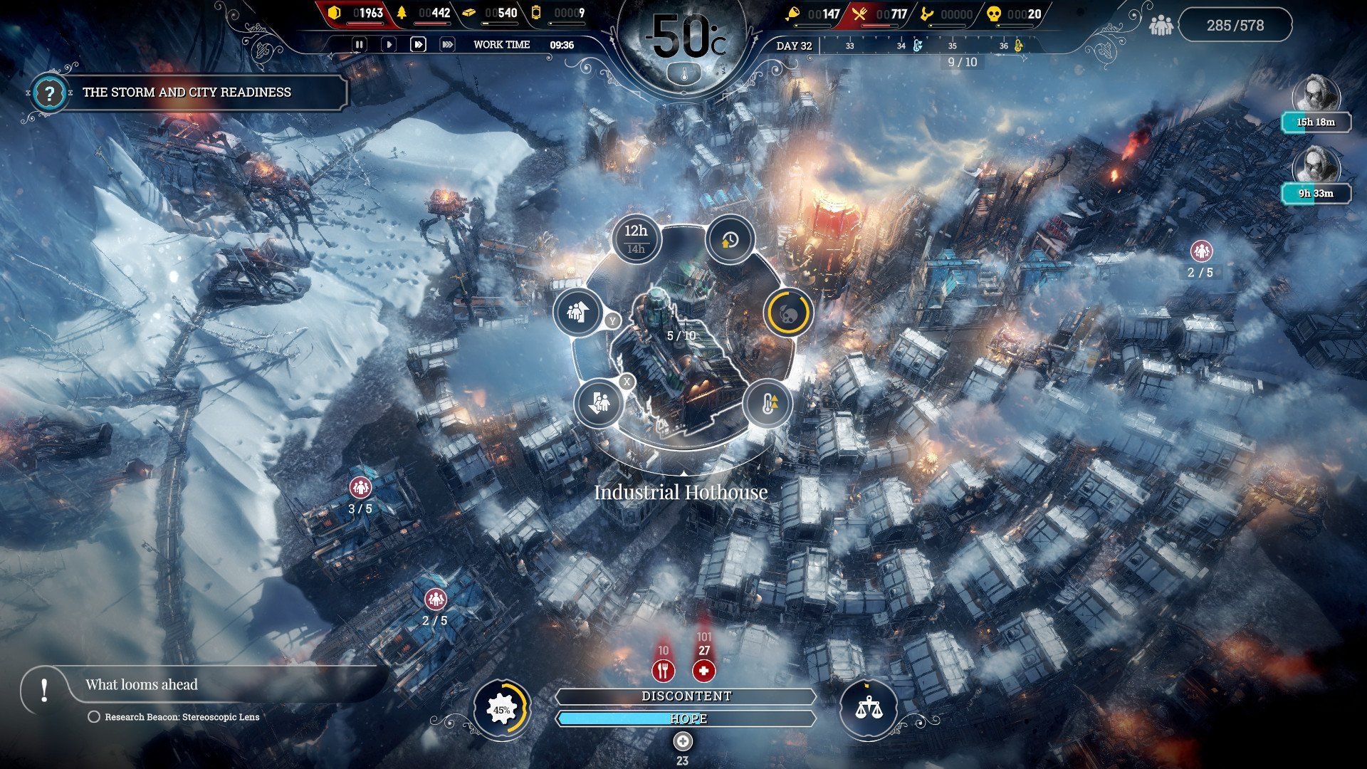 Game image Frostpunk