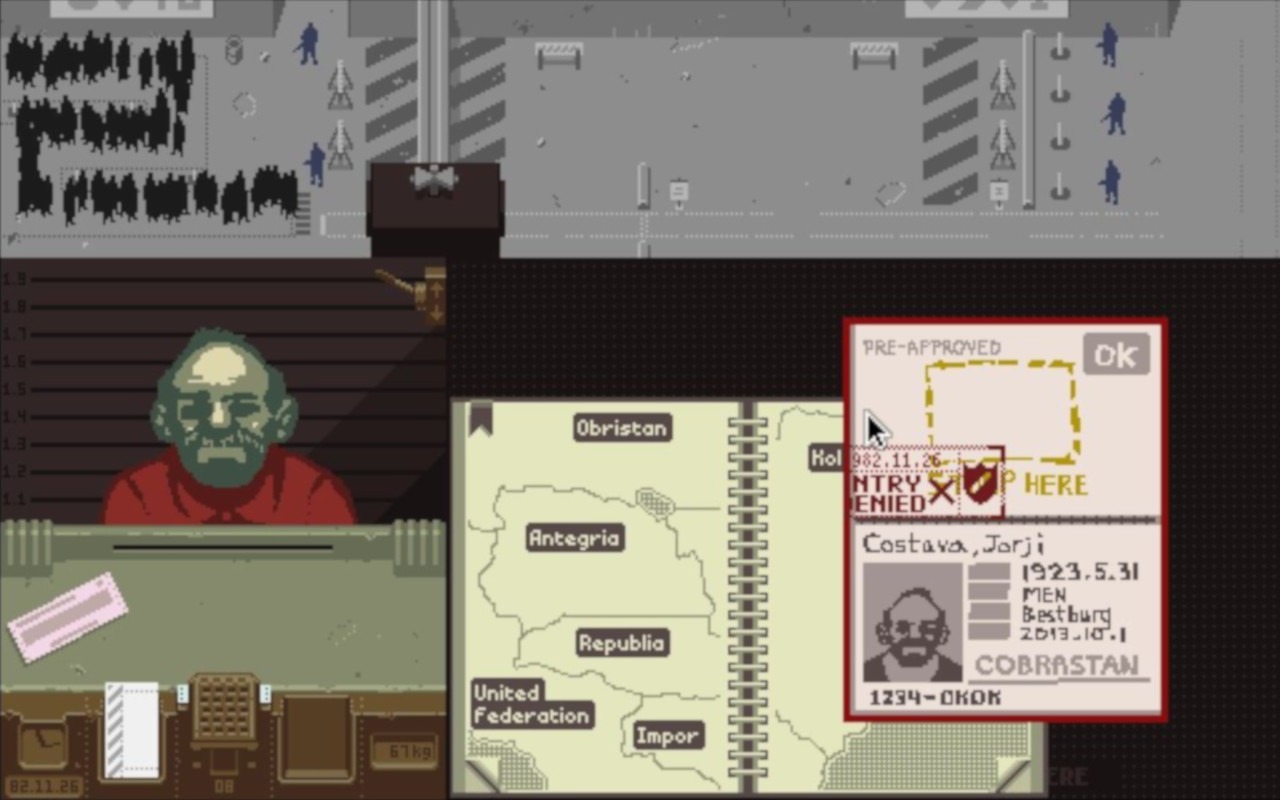 Game image Papers Please