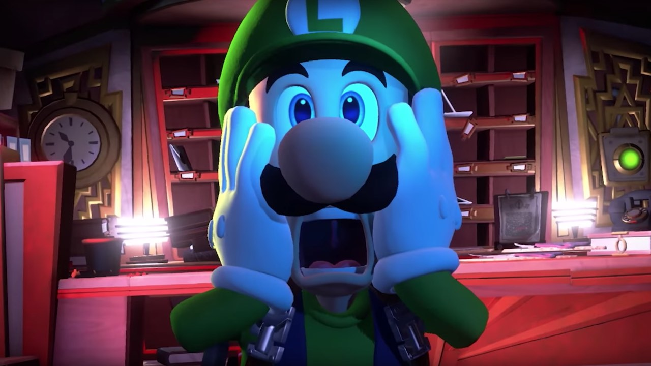 Game image Luigis Mansion