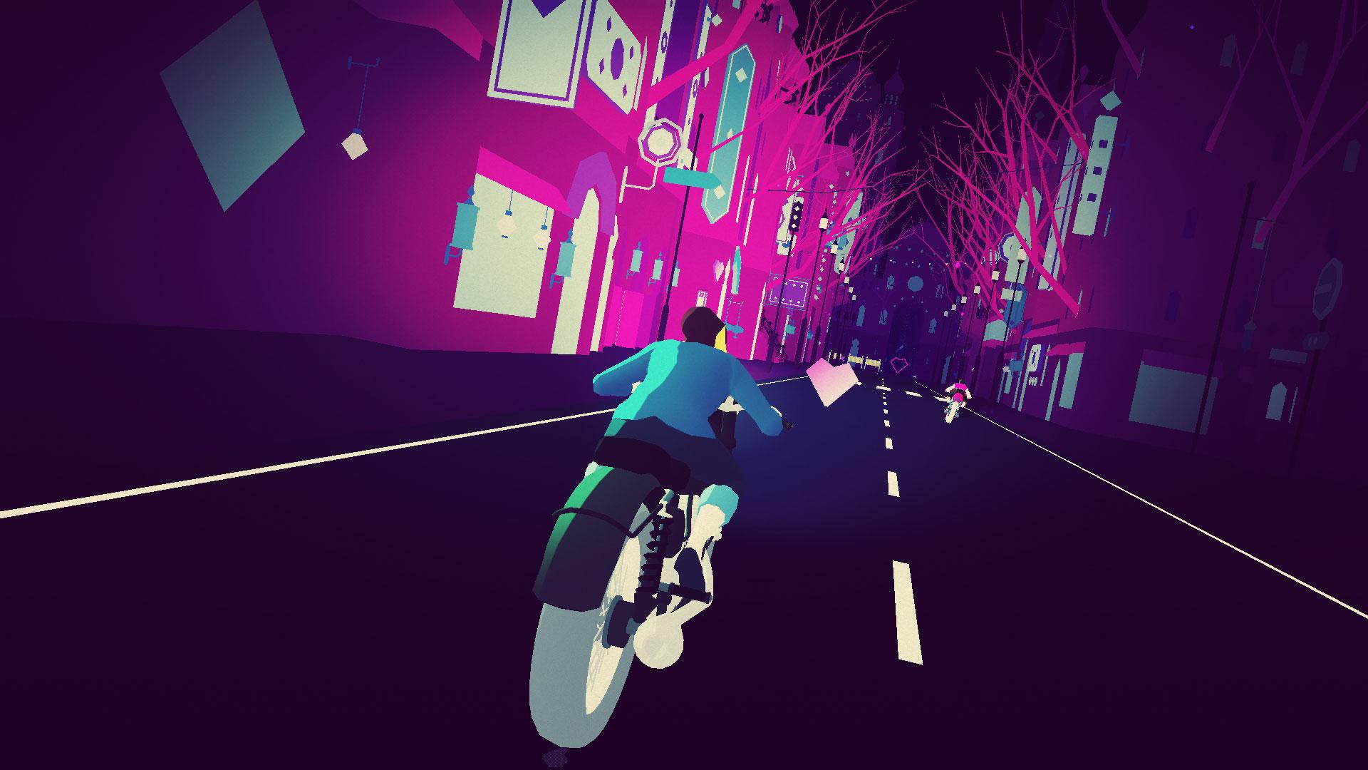 Game image Sayonara Wild Hearts