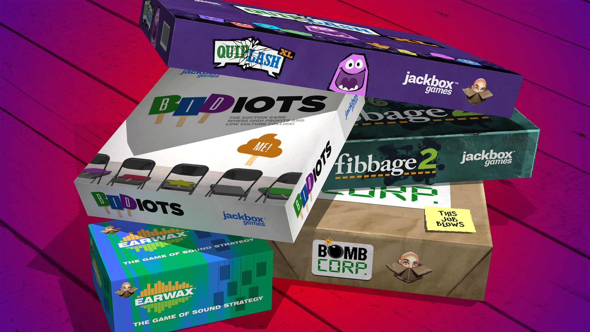 Game image The Jackbox Party