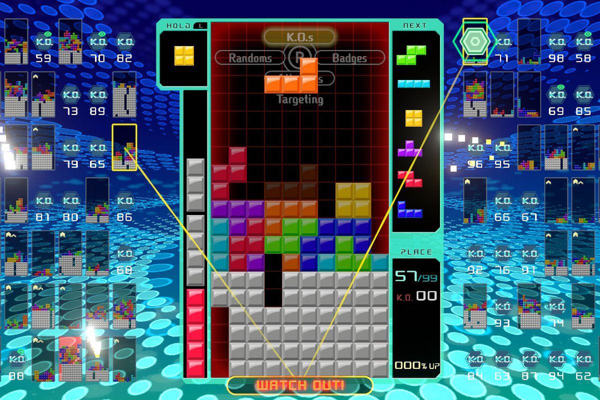 Game image Tetris 99