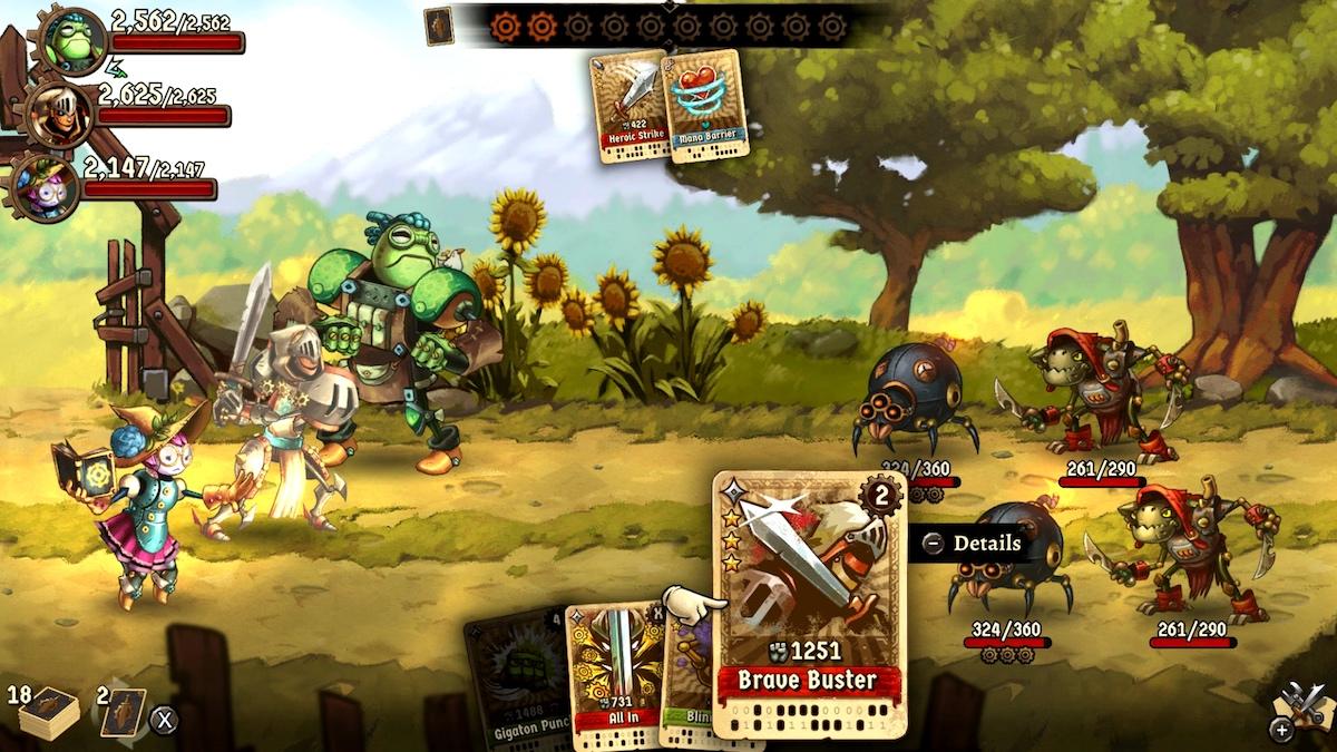 Game image Steamworld Quest