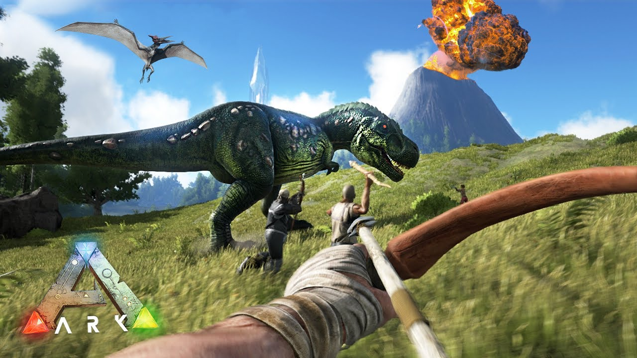 Ark Survival Evolved Game - PC, PS4, Switch and Xbox One - Parents Guide