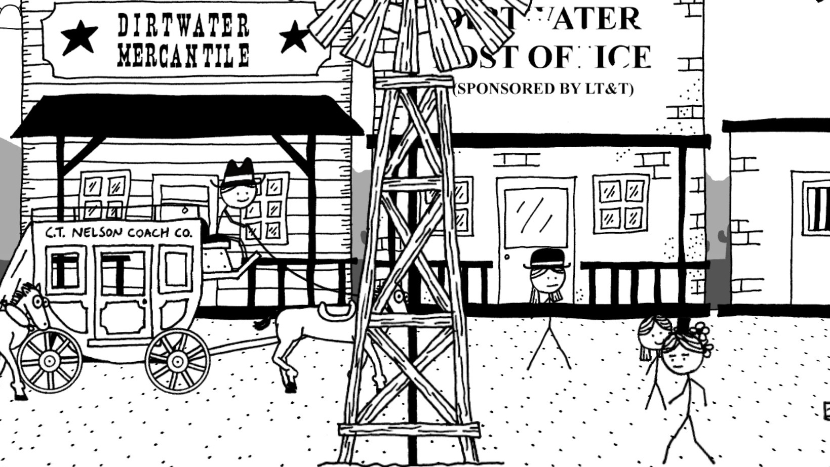 Game image West of Loathing