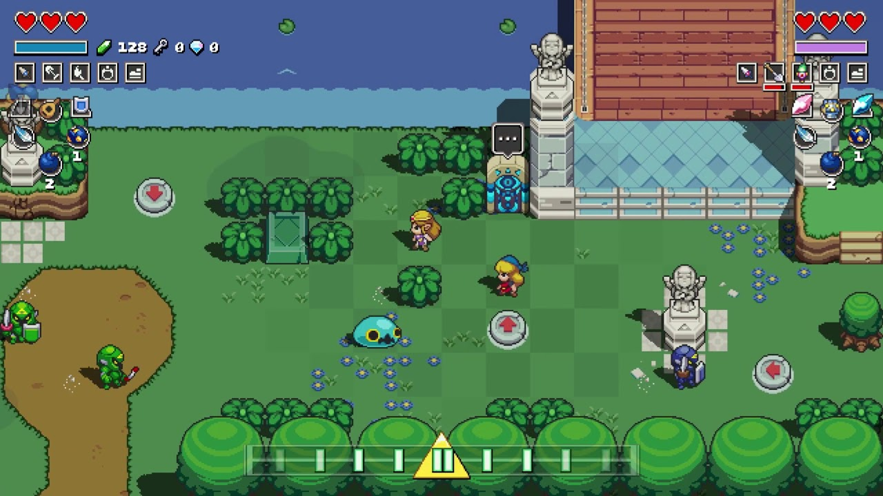 Cadence Of Hyrule Game Switch Parents Guide Family Video Game Database