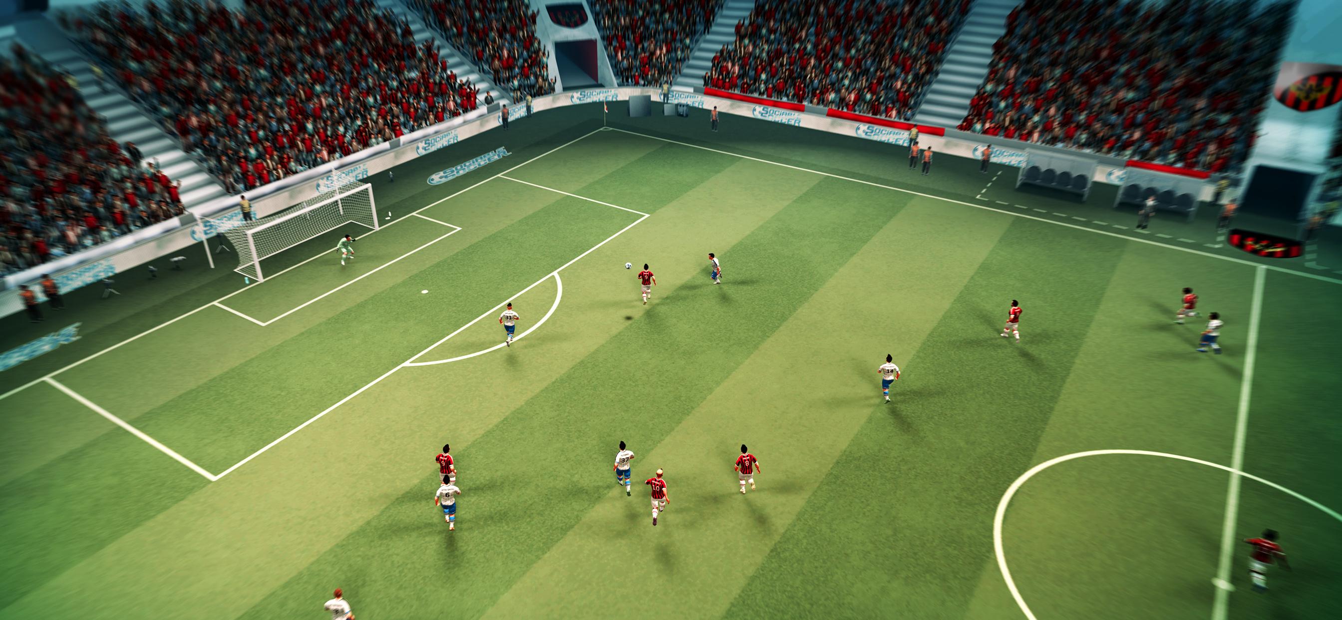 Game image Sociable Soccer