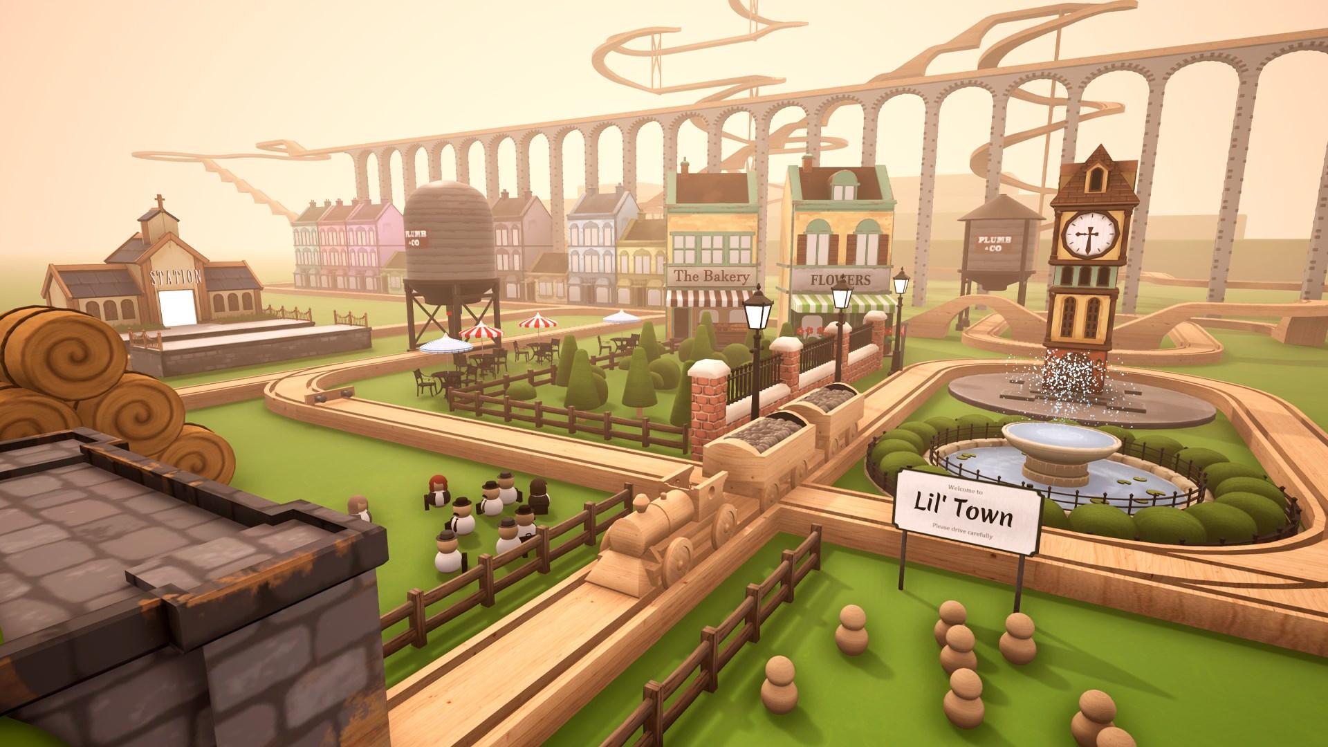 Game image Tracks The Train Set Game