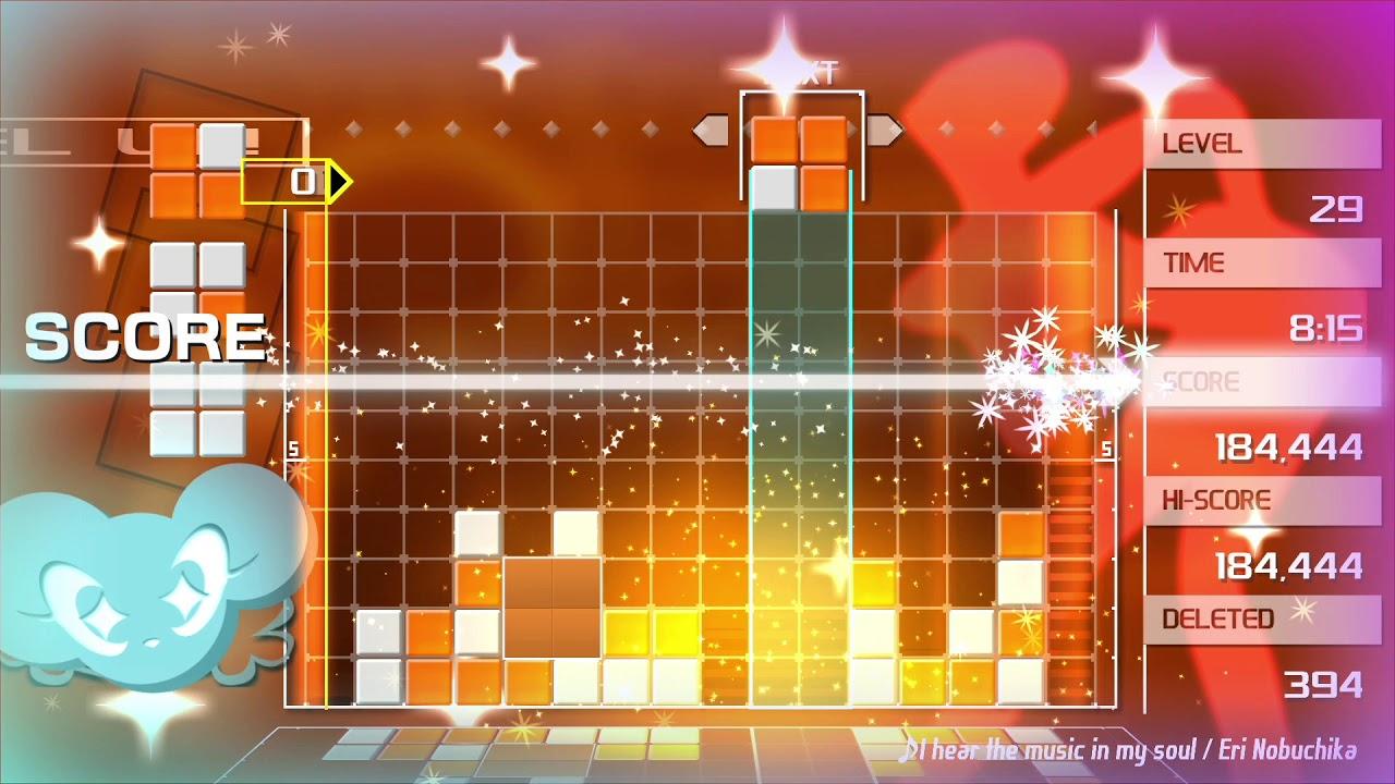 Game image Lumines