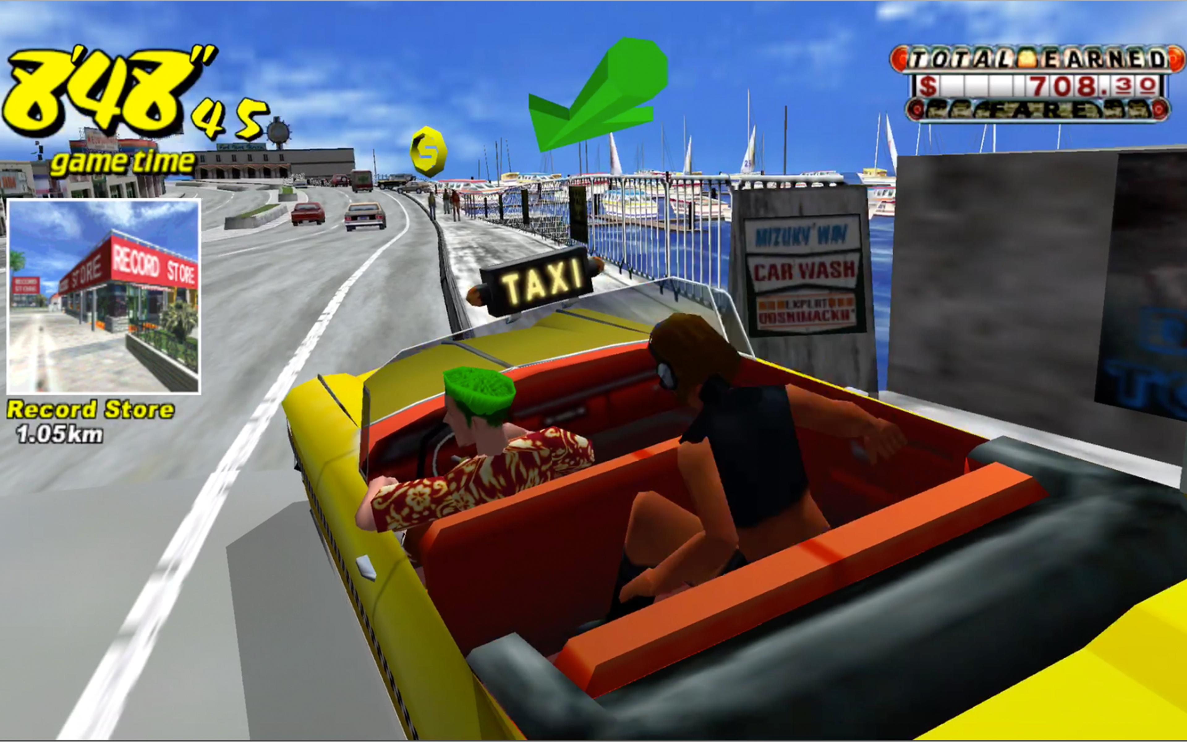 Game image Crazy Taxi