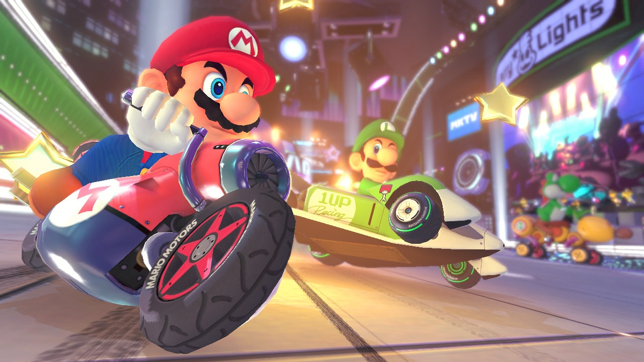 Mario Kart Game - 3DS and 2DS, DS, GameCube, Switch and iOS - Parents Guide