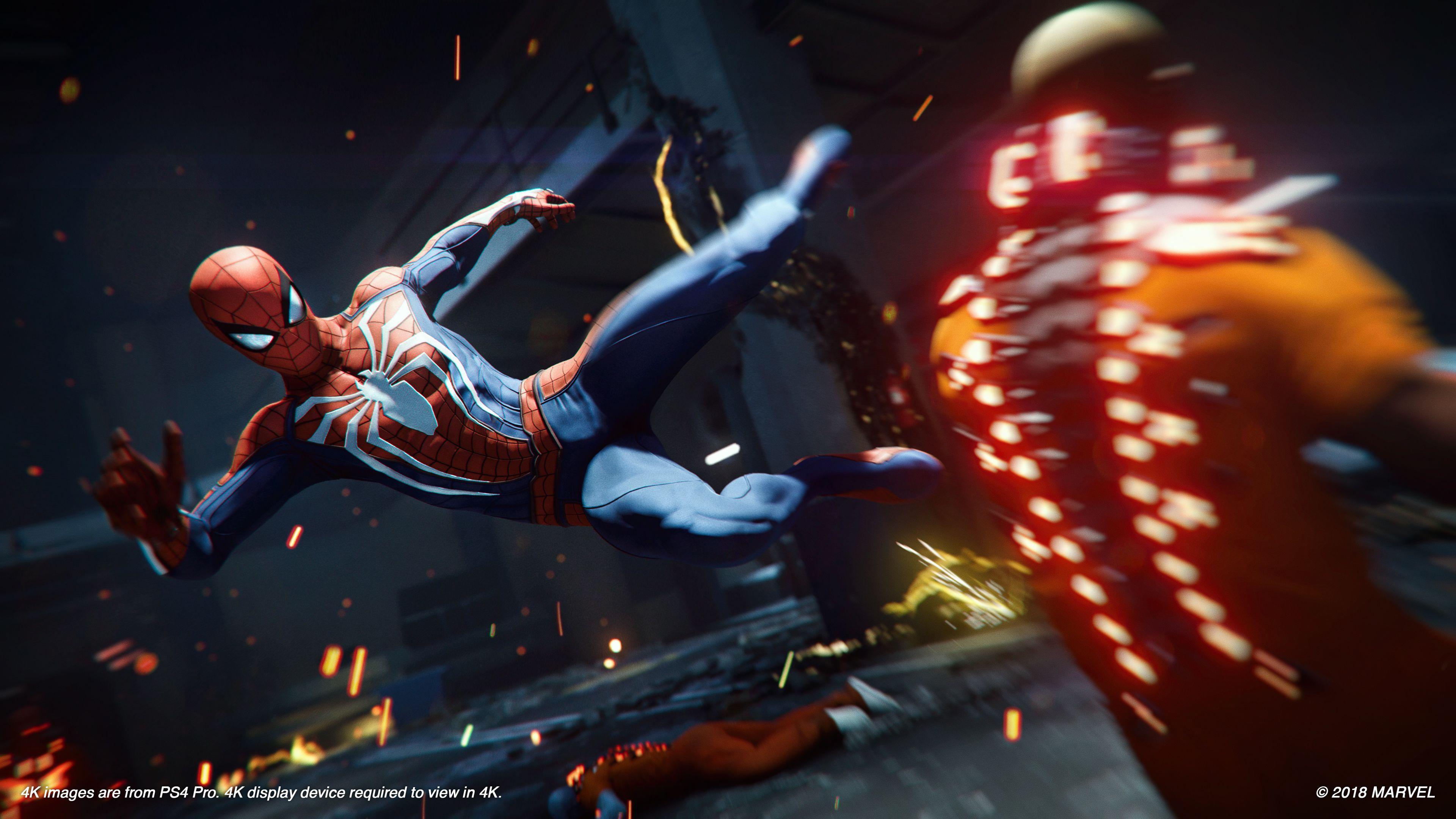 Game image Marvels SpiderMan