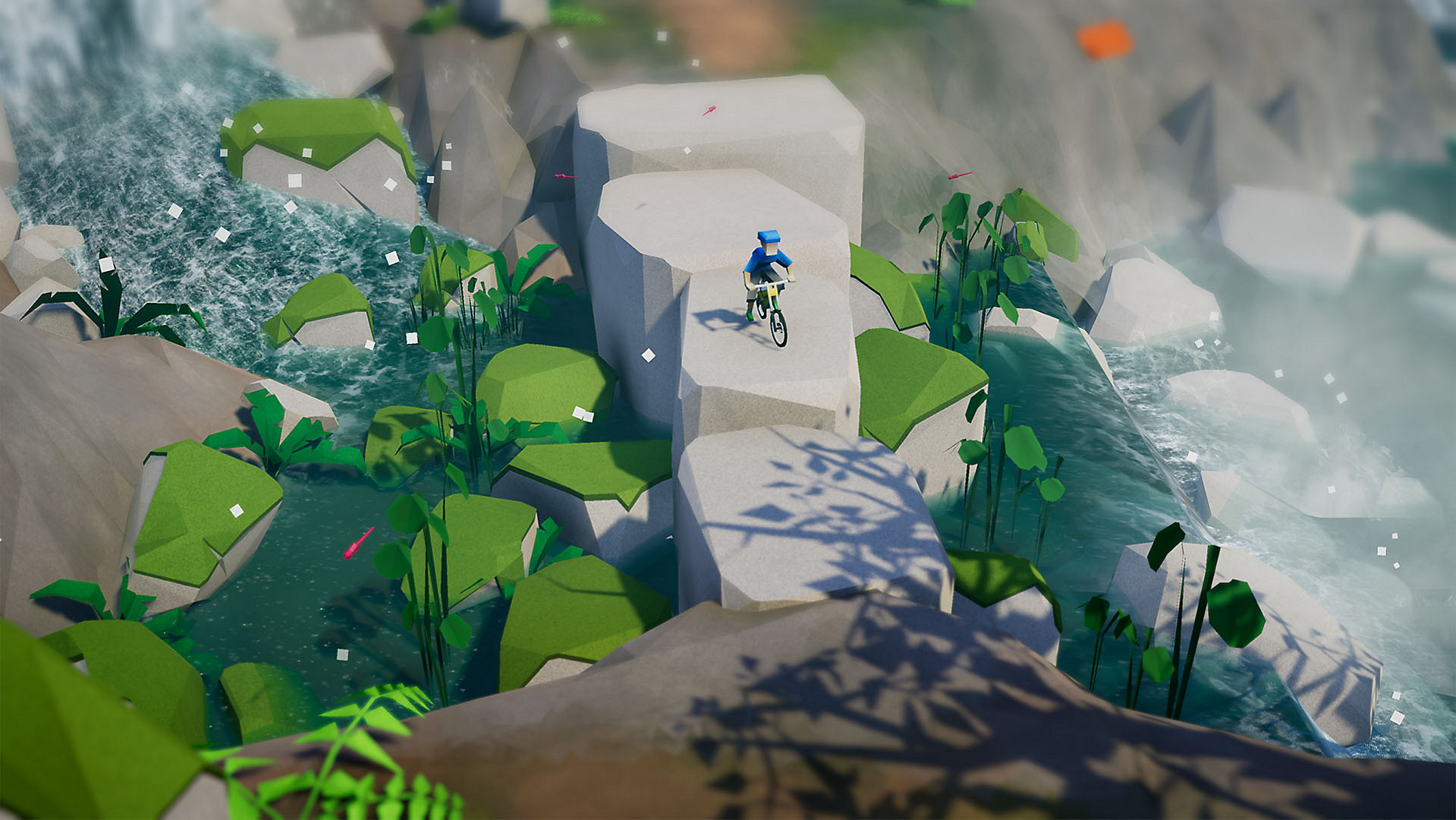 Game image Lonely Mountains Downhill