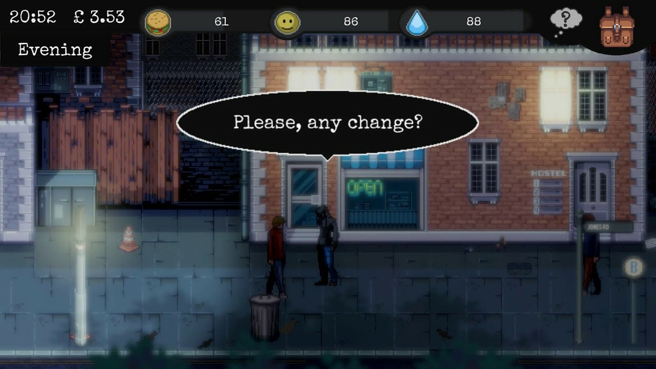 Game image Change A Homeless Survival Experience