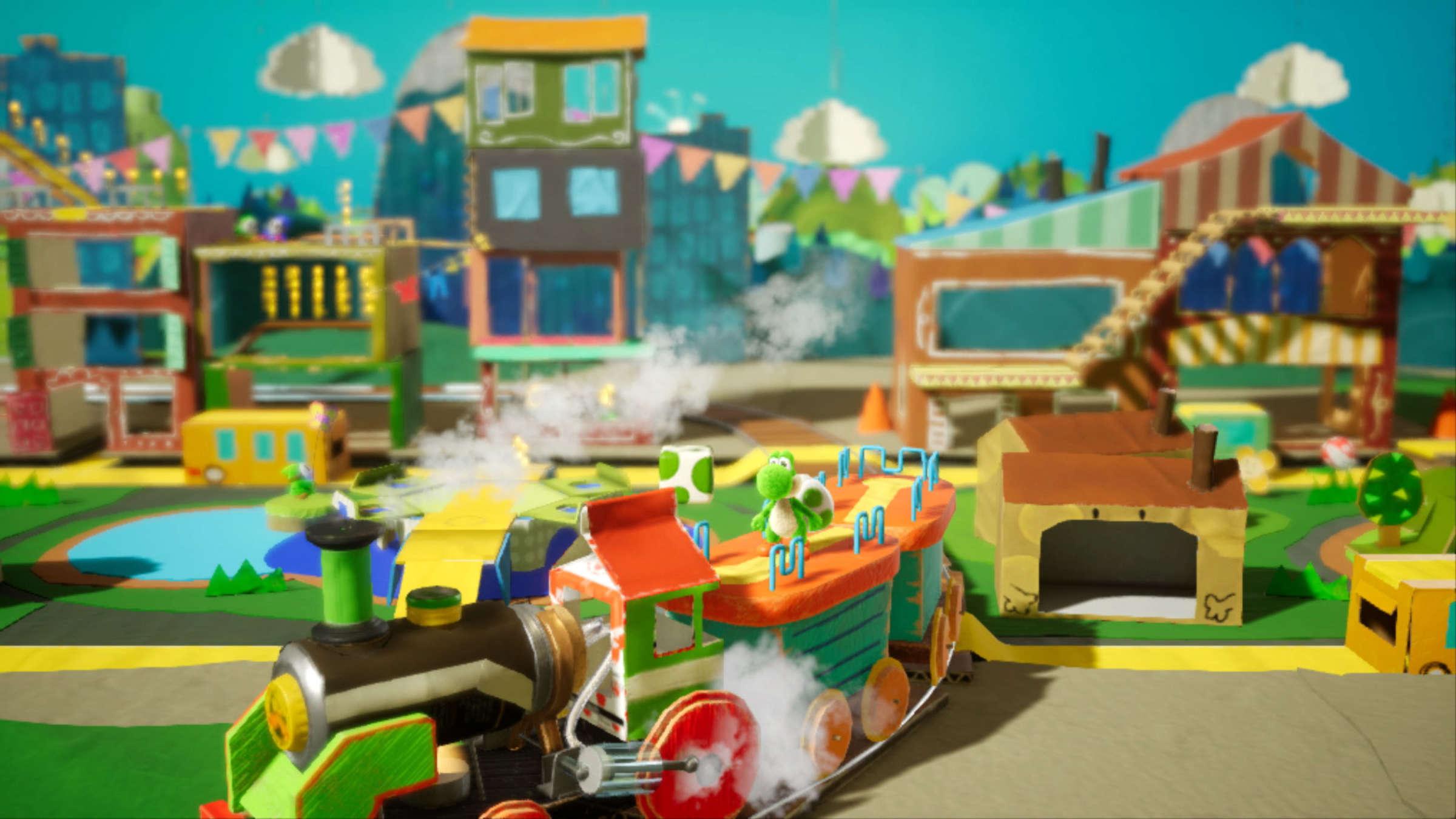 Game image Yoshis Crafted World