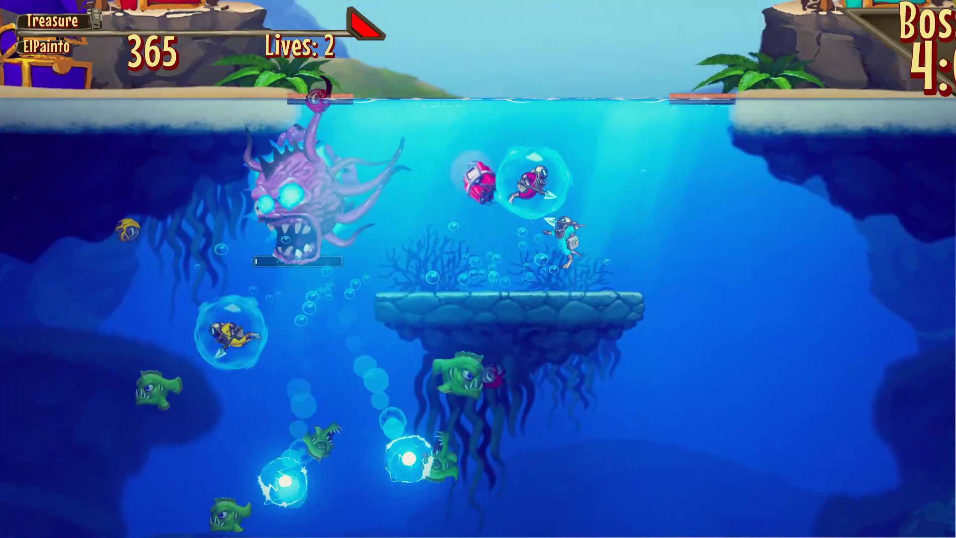 Game image Aqua Lungers