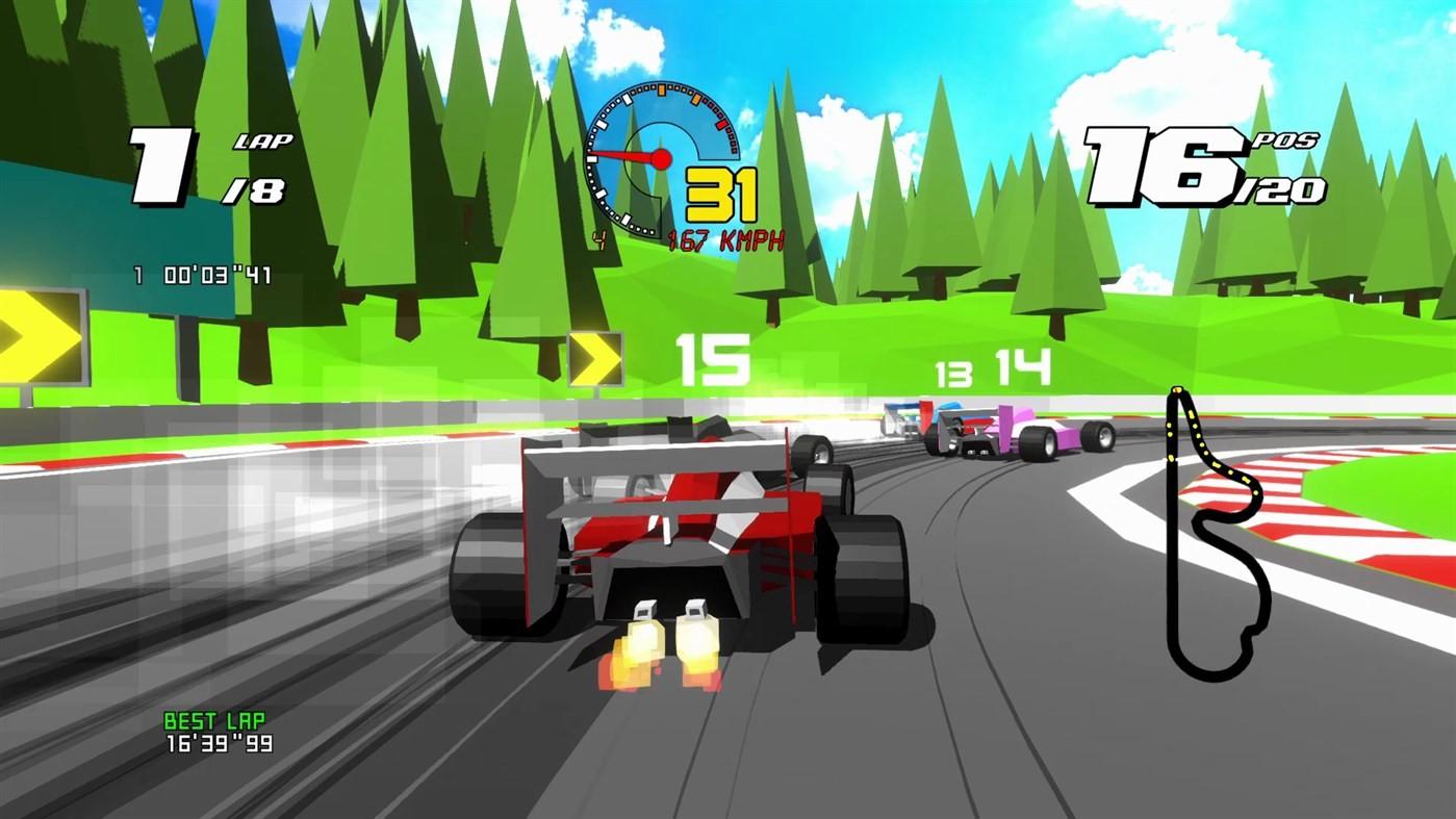 Game image Formula Retro Racing
