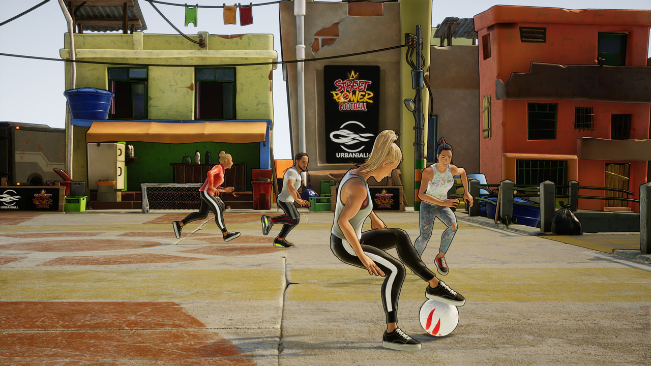 Game image Street Power Football