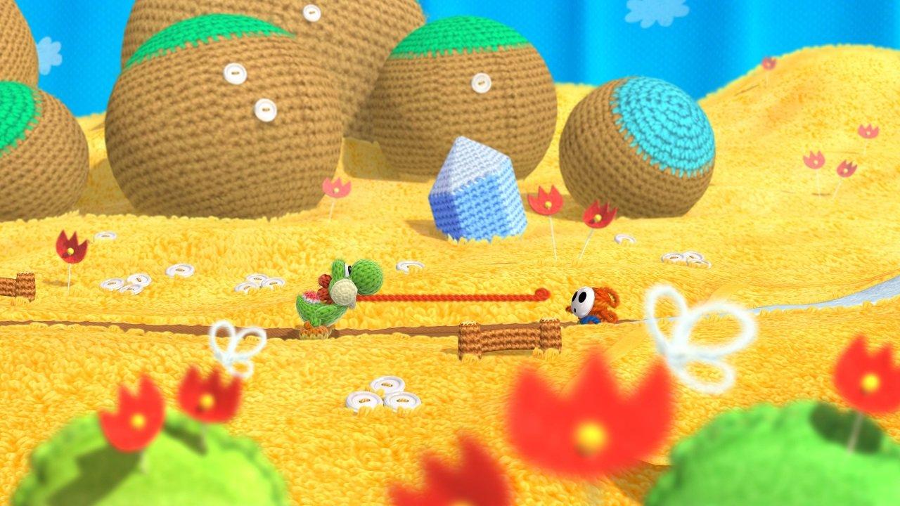 Game image Yoshis Wooly World