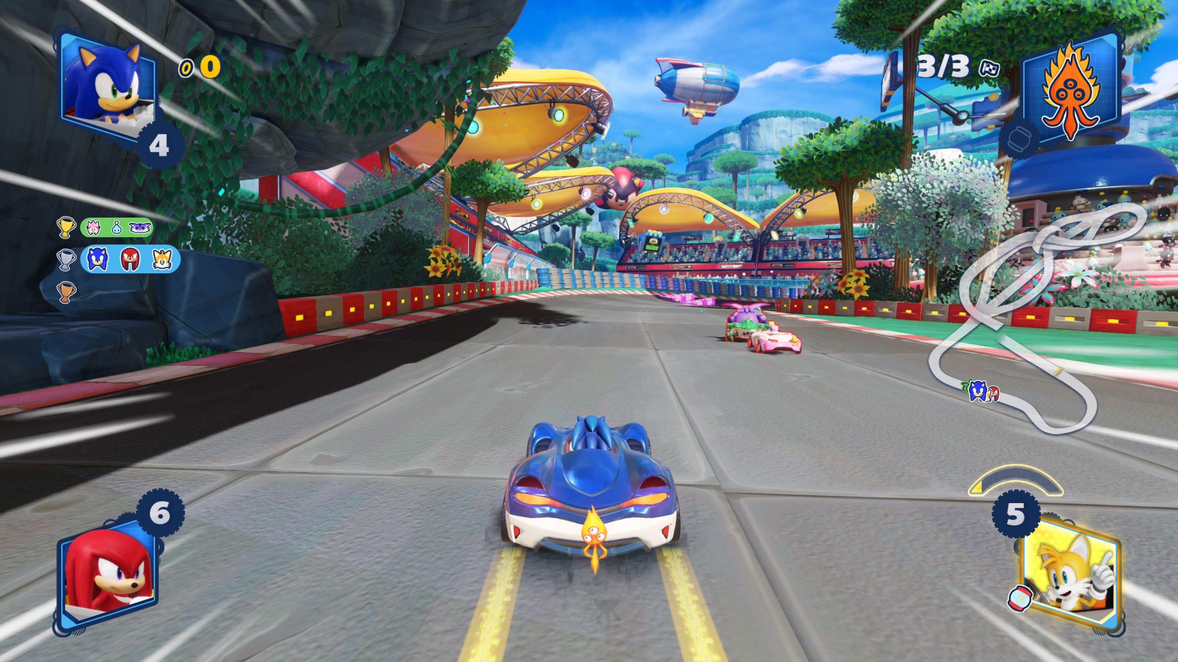 Game image Sonic Racing