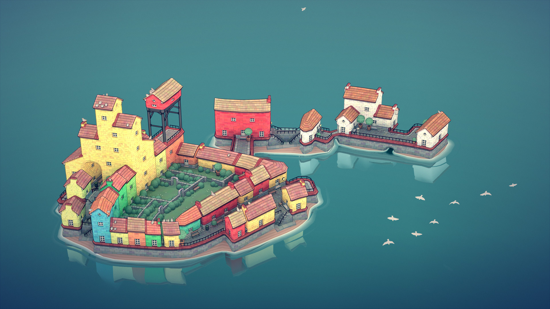 Game image Townscaper