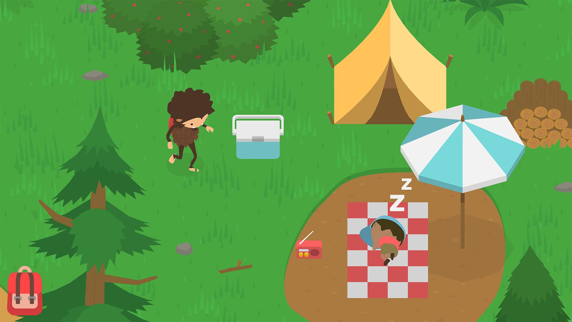 Game image Sneaky Sasquatch