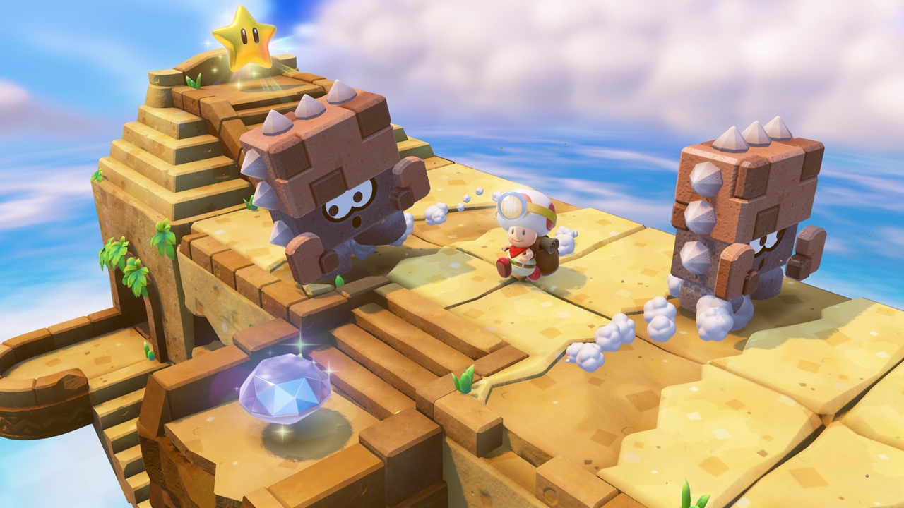 Game image Captain Toad Treasure Tracker
