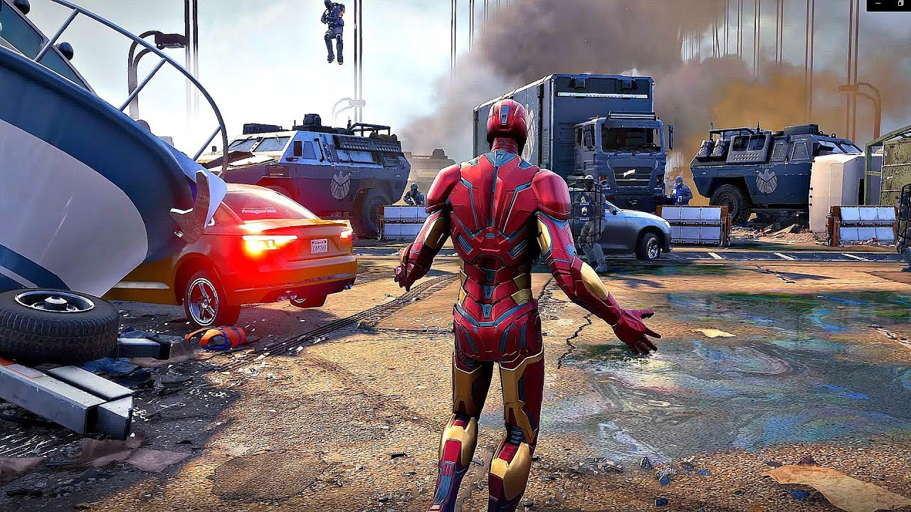 Game image Marvels Avengers