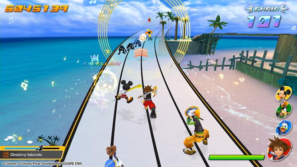 Game image Kingdom Hearts Melody of Memory
