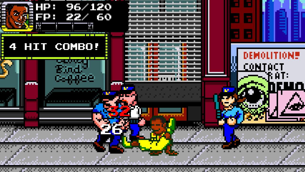 Game image Treachery in Beatdown City