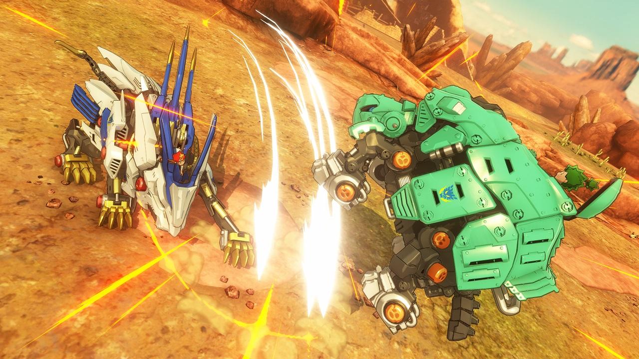 Game image Zoids Wild Blast Unleashed