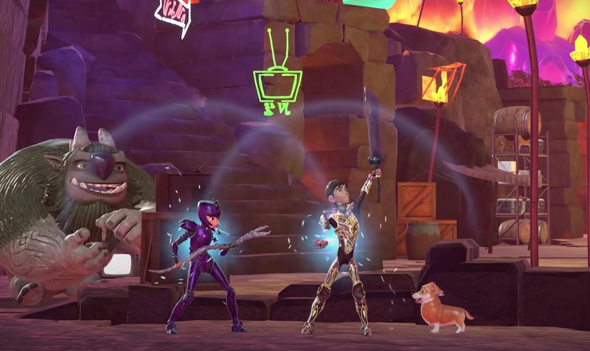 Game image Trollhunters Defenders of Arcadia