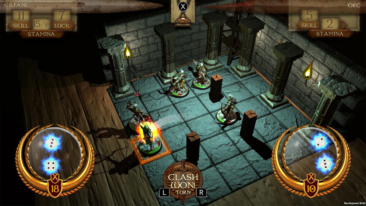 Game image The Warlock of Firetop Mountain
