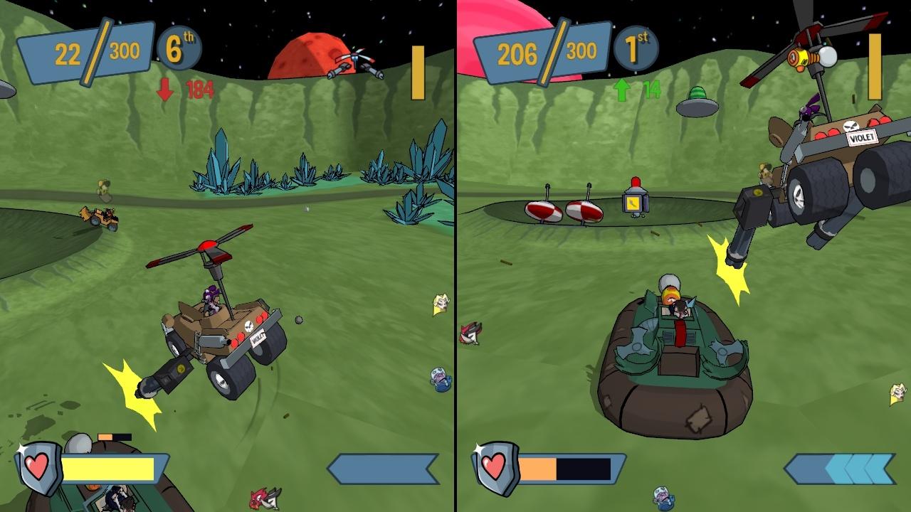Game image Cel Damage HD