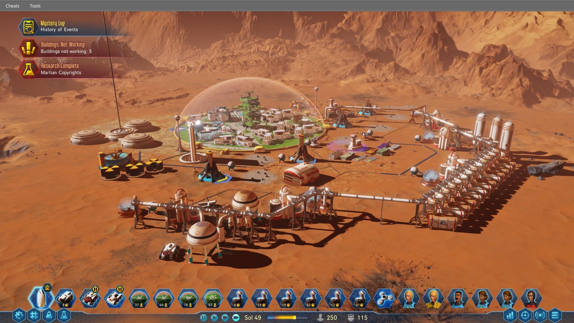 Game image Surviving Mars