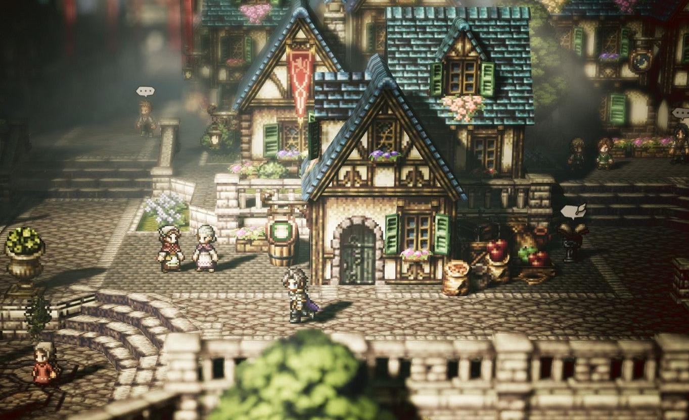 Game image Octopath Traveler