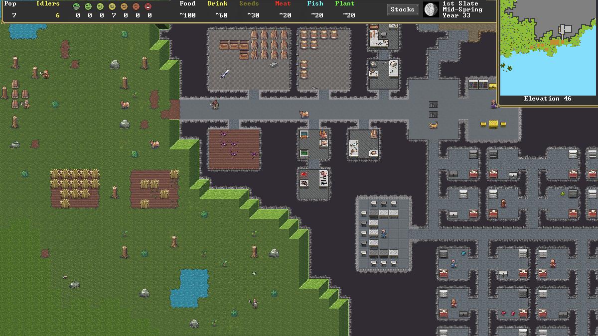 Game image Dwarf Fortress