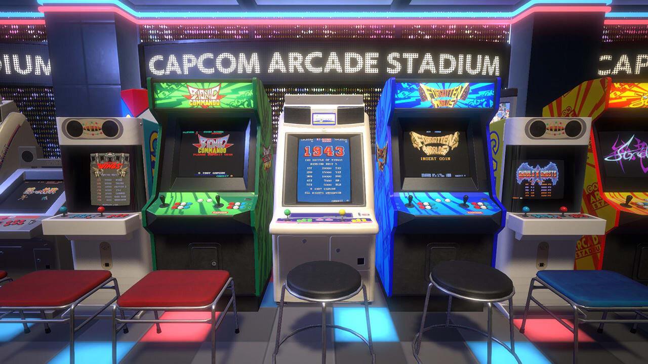Game image Capcom Arcade Stadium