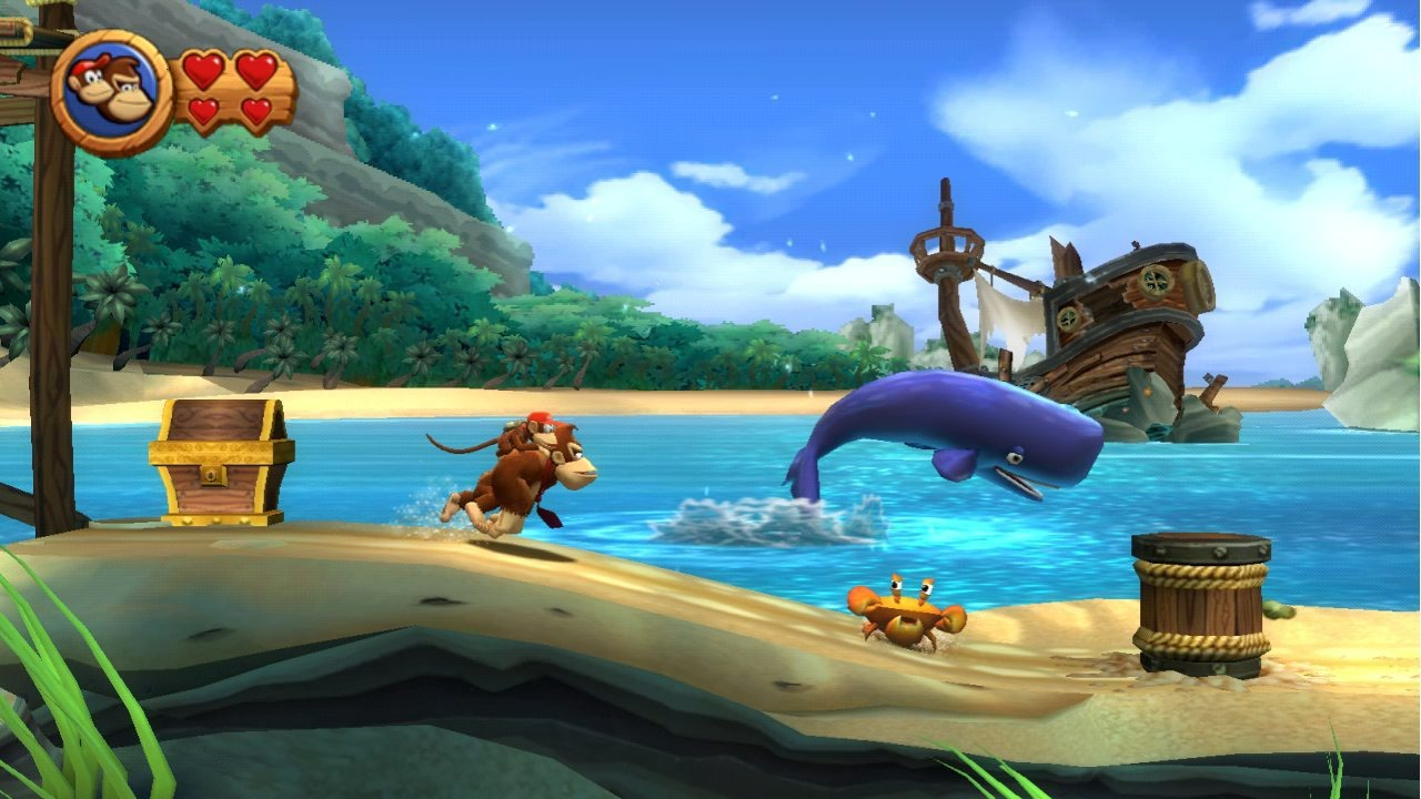 Game image Donkey Kong Country Returns