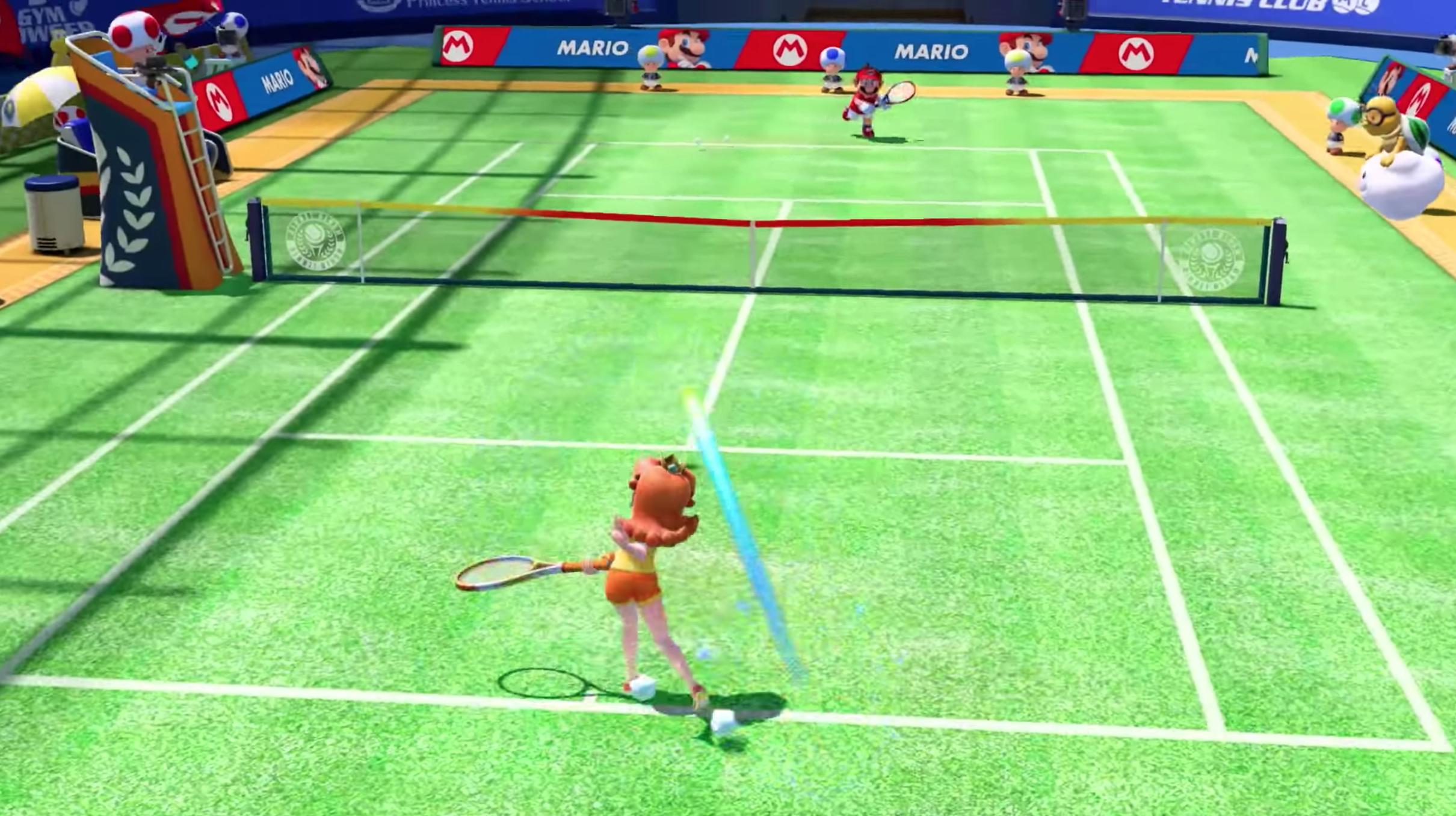 Game image Mario Tennis Aces