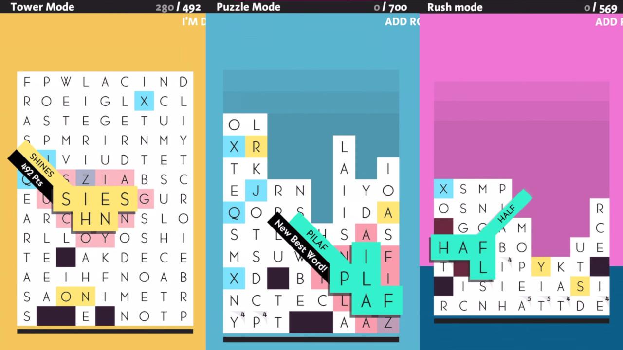Game image SpellTower