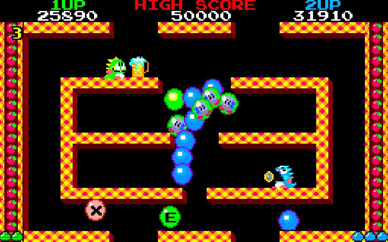 Game image Bubble Bobble