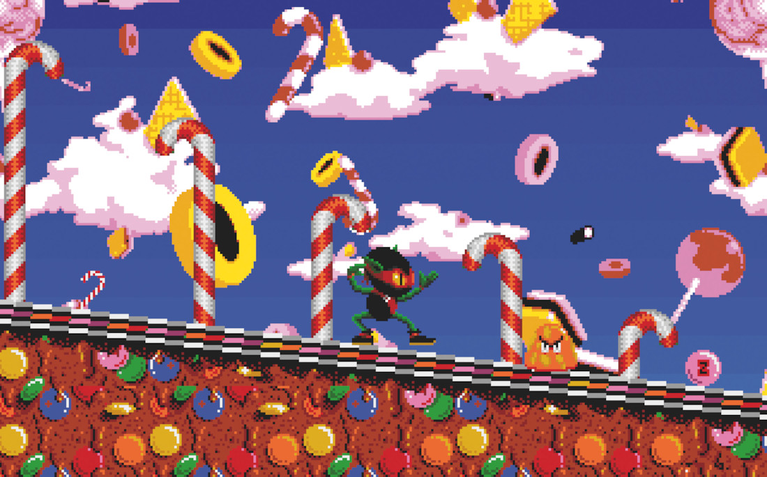 Game image Zool Redimensioned