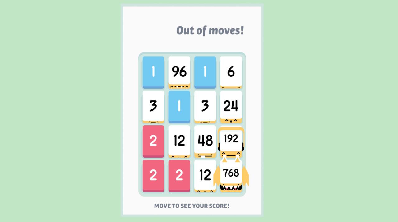 Game image Threes